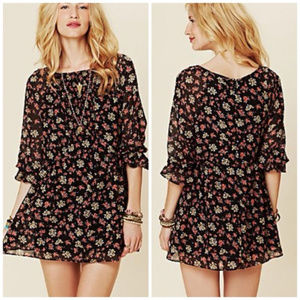 Free People Baby Doll Tunic Dress